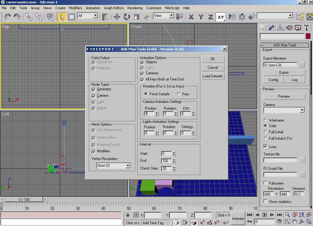 3d studio max tools fernando serrano for 3d studio max